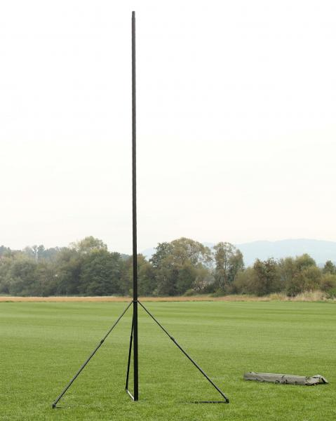 ST-R tripod mast elevated